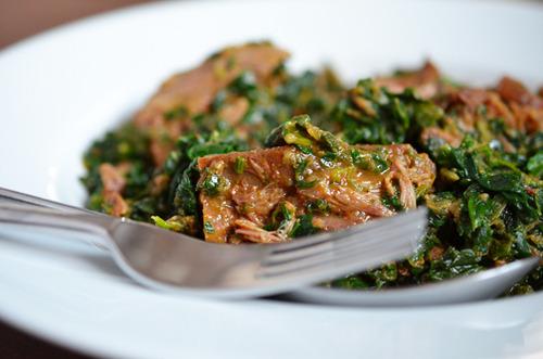 93. Lamb Spinach